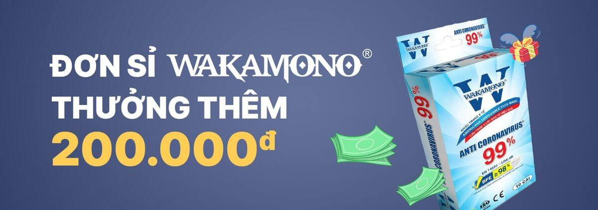 Khẩu trang Wokamono