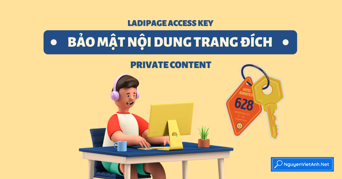 LadiPage Access Key