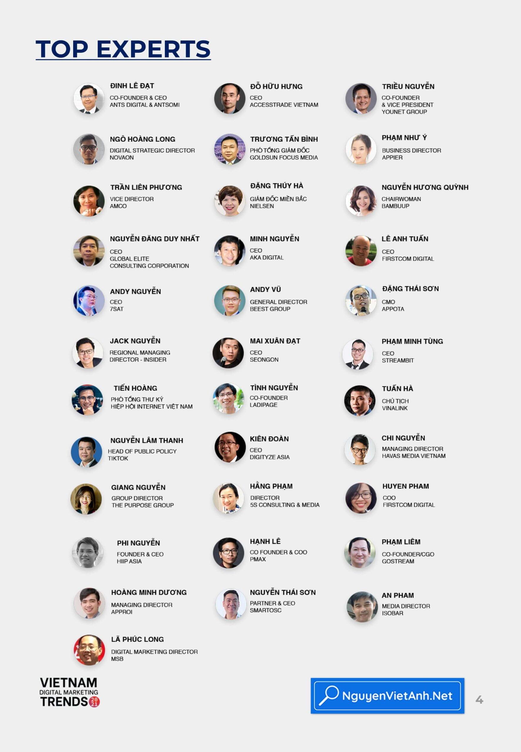 Vietnam Digital Marketing Trends 2021 - Top Experts