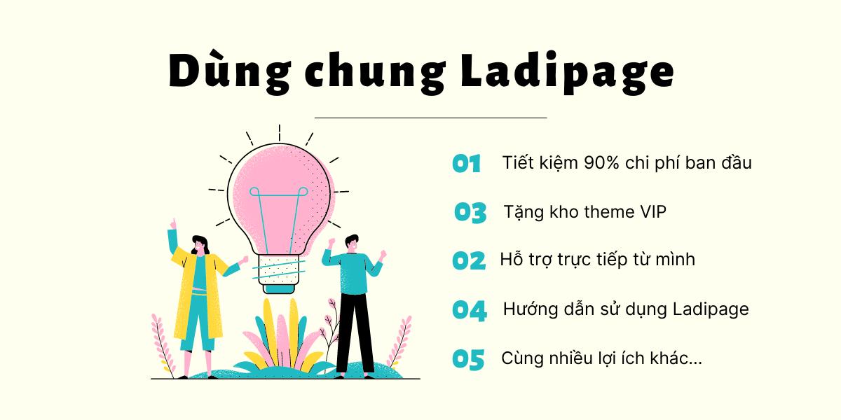 Dùng chung Ladipage