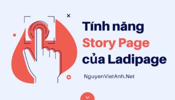 Tính năng Story Page của Ladipage