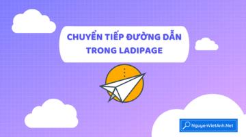 Chuyển hướng đường dẫn trong Ladipage